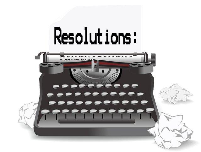 Typewriter-Resolutions