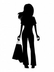 girl-shopping-black-silhouette