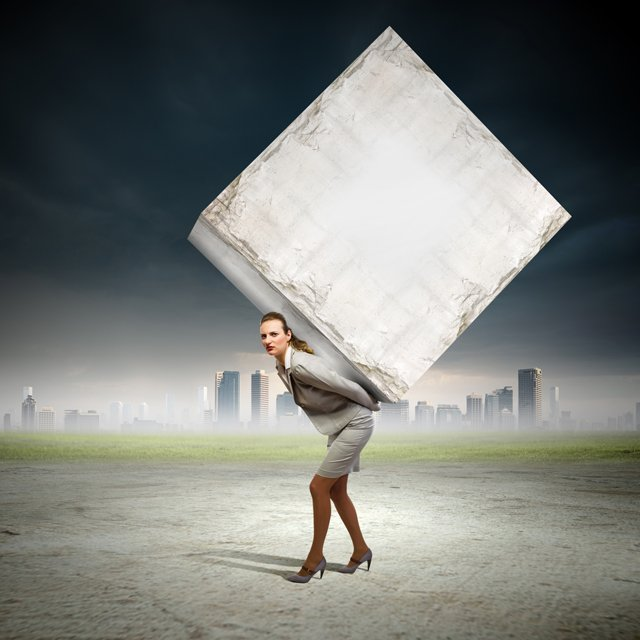 kozzi-businesswoman_carrying_cube_small