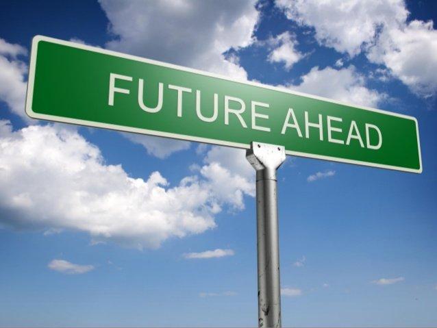 future ahead sign