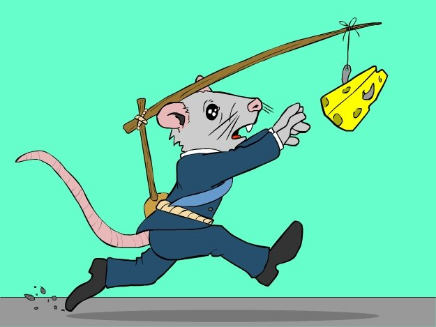 Business mouse and cheese_2